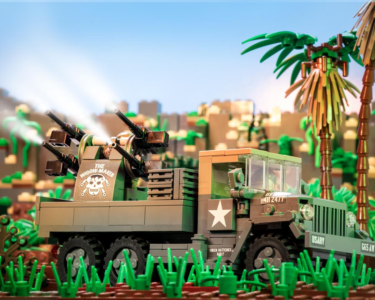 The Widowmaker - Vietnam War M35A2 Gun Truck
