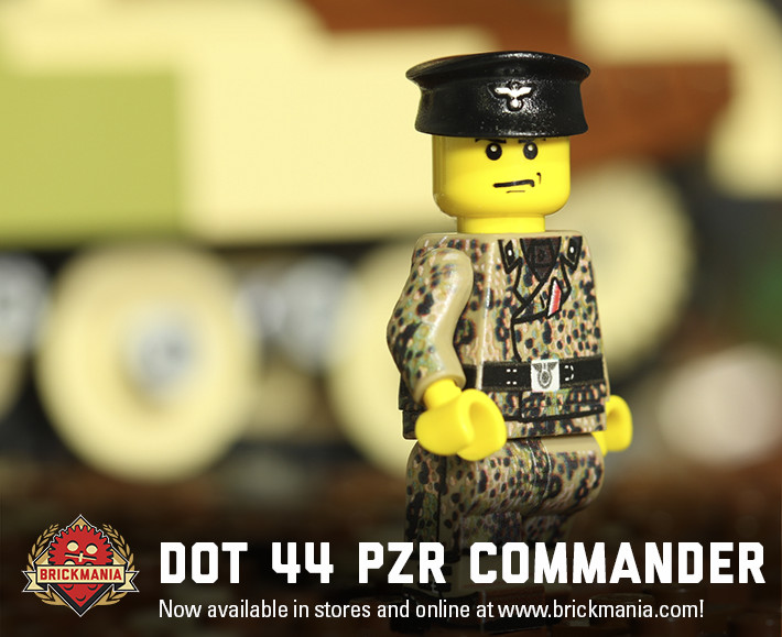 BMF199 - WWII German Dot-44 Panzer Commander