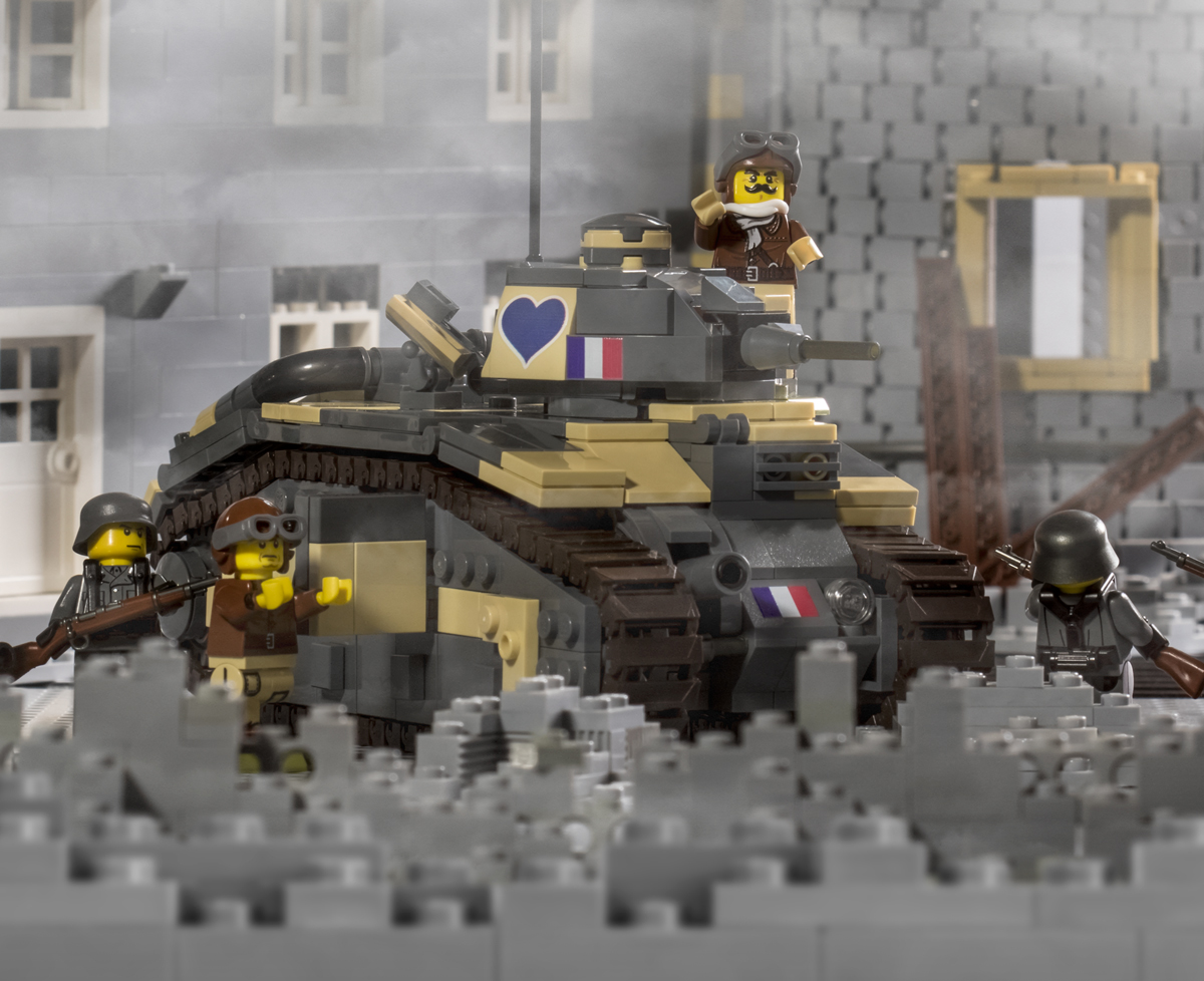 Char B1 Bis Brickmania Toys