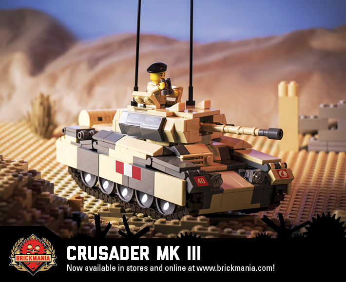 Crusader Mk III - World War II Cruiser Tank