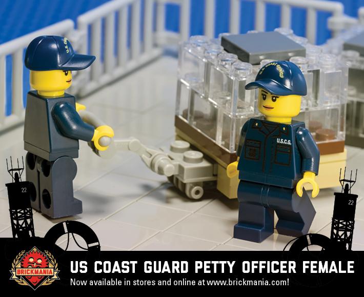 US Coast Guard Petty Officer (Female)