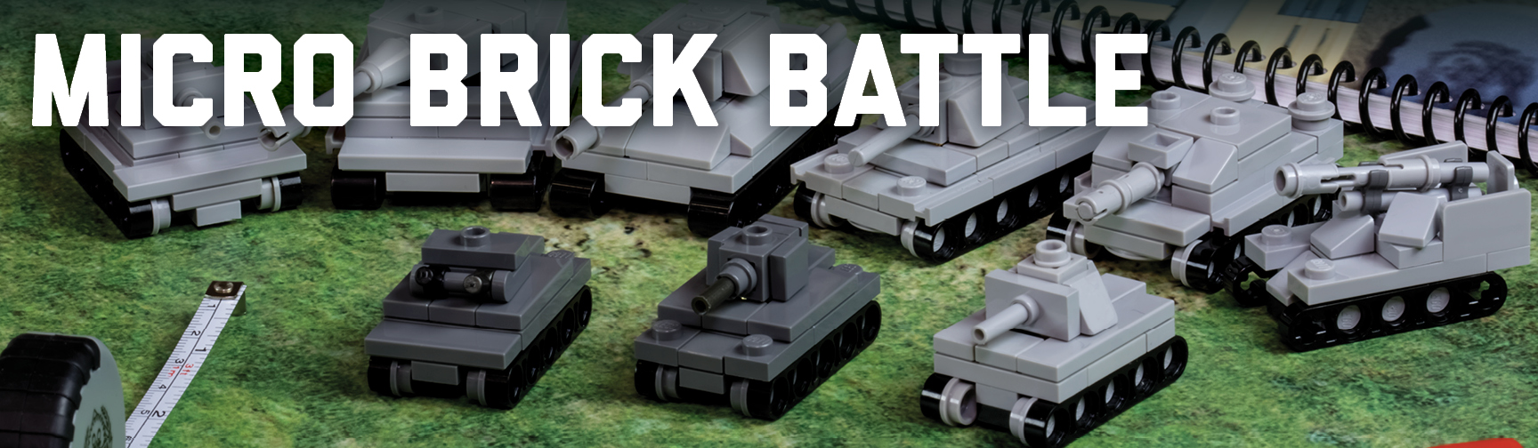 Micro Brick Battle - Brickmania Toys